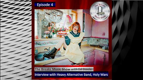 Holy Wars Interview on The Breaks Music Show - Coming Friday - July 9, 2021