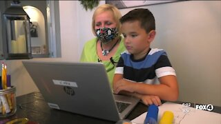 Parents share how first day of virtual learning went