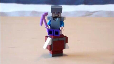 Lego Minecraft Strider Tutorial