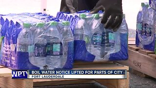 Boil water notice lifted for parts of Fort Lauderdale