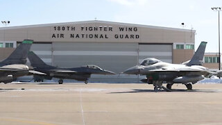 180FW Mission Ready During Extreme Weather
