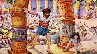 We Should Not Be Blind Like Samson Judges 16:21