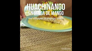 Red Snapper in Mango Sauce