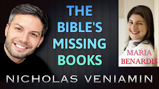 Maria Benardis Discusses The Bible's Missing Books with Nicholas Veniamin