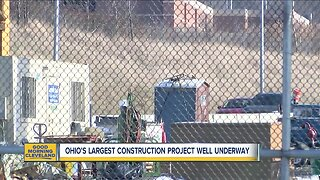Ohio's largest construction project well underway