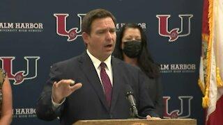 Florida Gov. Ron DeSantis on schools reopening