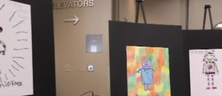 Local students name surgical robots