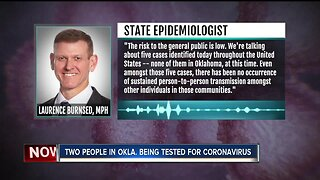 Coronavirus potentially in Oklahoma, breakdown on its spread