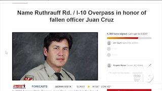Seeking a memorial bridge for a fallen Arizona State Police Officer