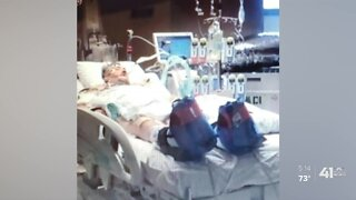 Long-term effects of COVID-19 have Emporia man fighting for his life