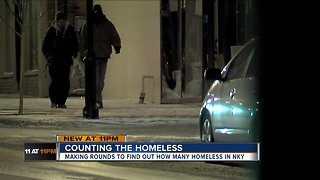How many homeless people are in Northern Kentucky?