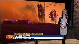 Local Red Cross volunteer helps in California fire