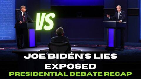 2020 presidential debate recap