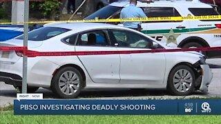 Deputies investigating deadly shooting