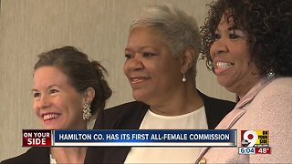 First all-female Hamilton County Commission swears in Victoria Parks