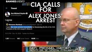Breaking: Former CIA Head Calls for Alex Jones' Arrest