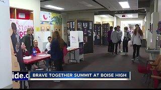 "Boise High students celebrate ""Brave Together"" day"