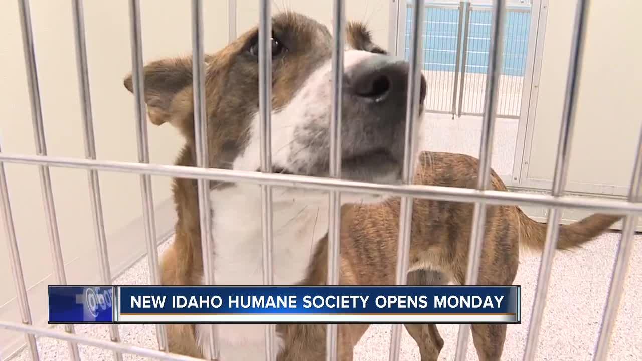 New Idaho Humane Society facility opens Tuesday