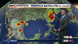 Dorian a Major Hurricane