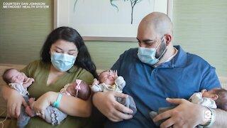 Meet Omaha's newest quadruplets
