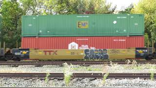 Norfolk Southern Intermodal Train from Berea, Ohio October 6, 2020