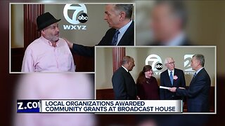 Local organizations awarded community grants at Broadcast House