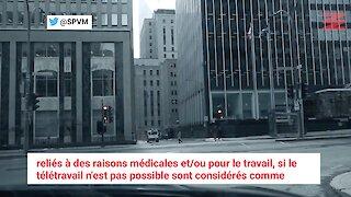 La Sûreté du Québec rappelle d'éviter même les balades en voiture