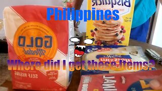 Food items I have ordered from lazada