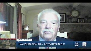 Inauguration Day activities in Washington D.C.