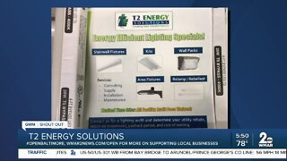 """T2 Energy Solutions says """"We're Open Baltimore!"""""""