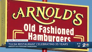 Arnold's Old Fashioned Hamburgers celebrates 35 years