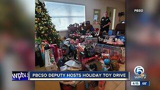 PBCSO Deputy hosts holiday toy drive