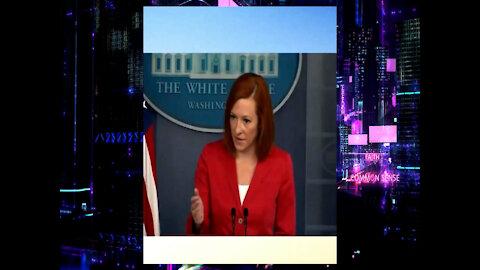 Jen Psaki, Biden Administration Support Olympic Hammer Thrower Gwen Berry's National Anthem Protest