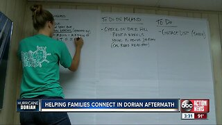 Helping families connect after Hurricane Dorian
