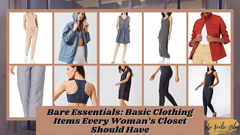 The Teelie Blog | Bare Essentials: Basic Clothing Items Every Woman's Closet Should Have
