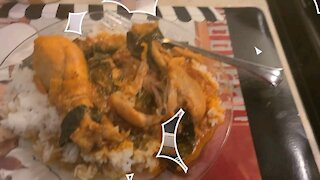 Cooking African Chicken and Fish Stew