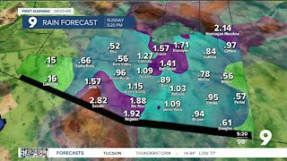 Heavy rain and flooding possible to finish the week