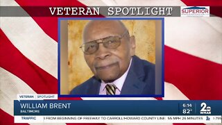 Veteran Spotlight: William Brent of Baltimore