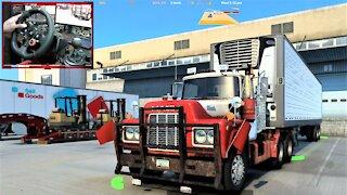 Mack R series Semi truck Maneuvering ATS gameplay