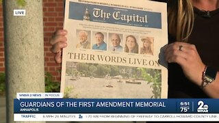 3 years later, memorial dedicated to Capital Gazette shooting victims; trial starts for shooter