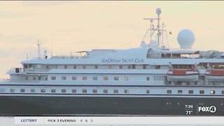 First major cruise since pandemic sets sail
