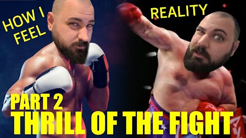 Oculus Quest 2 - Beginner Tries Thrill of the Fight PART 2