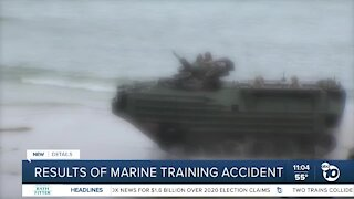 Report released on San Clemente Island AAV training accident