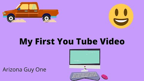This was my very first You Tube video