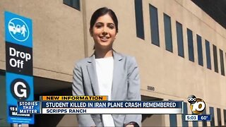 Student killed in plane crash remembered
