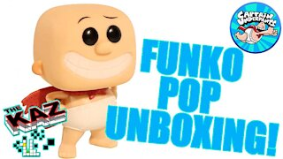 Captain Underpants Funko Pop Unboxing