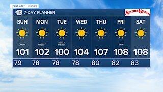 13 First Alert Las Vegas evening forecast | August 29, 2020
