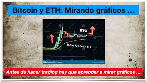 Gráficas de Bitcoin y Ethereum. Mucha gente las pide. Vamos a por ello ...