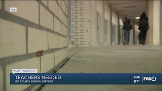 Lee County School District is hiring