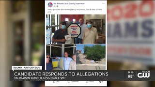 Board of supes candidate being investigated for breaking election laws